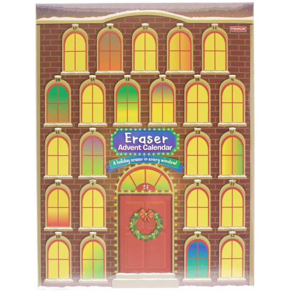 Advent Eraser Calendar