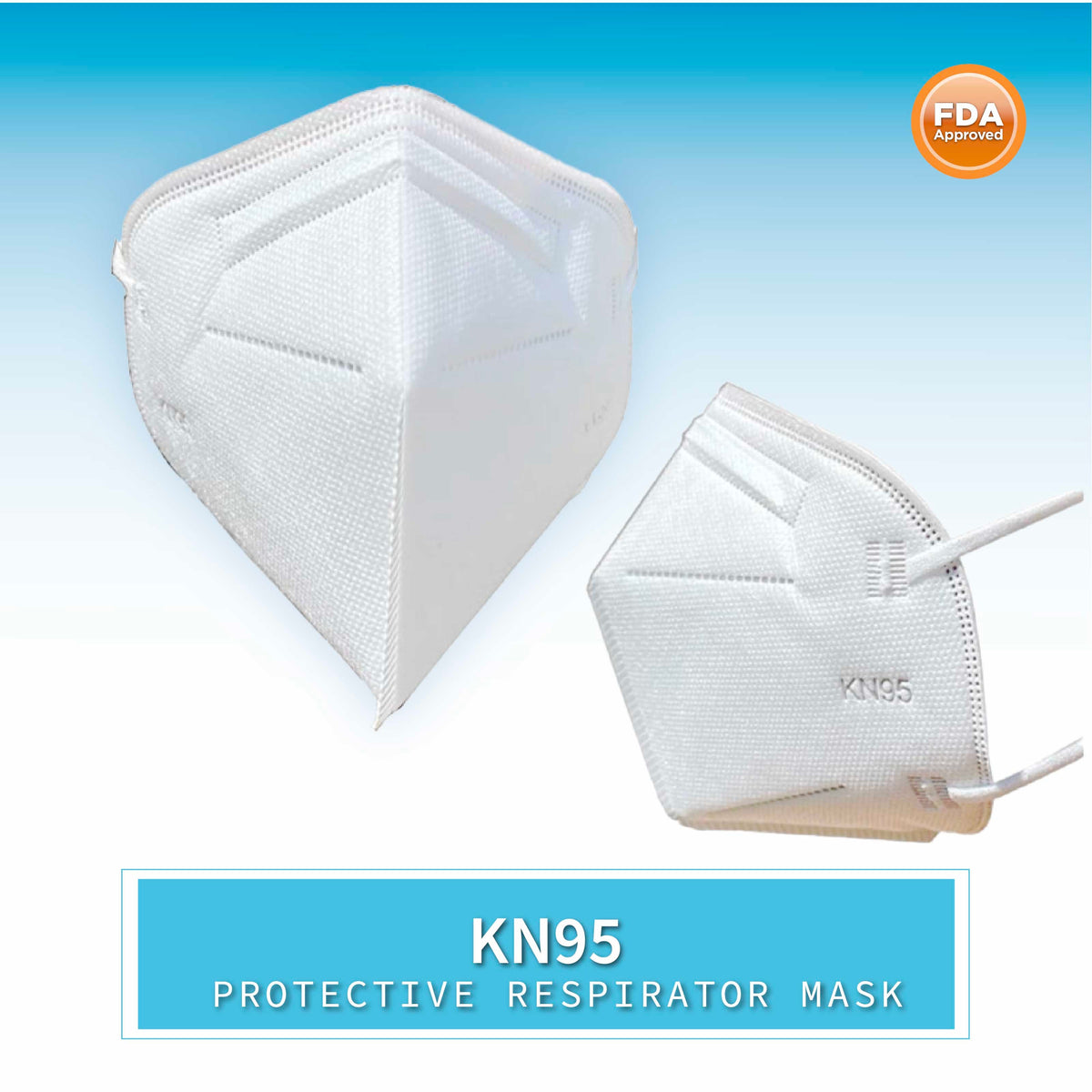 KN95 Protection Face Mask Set of 5