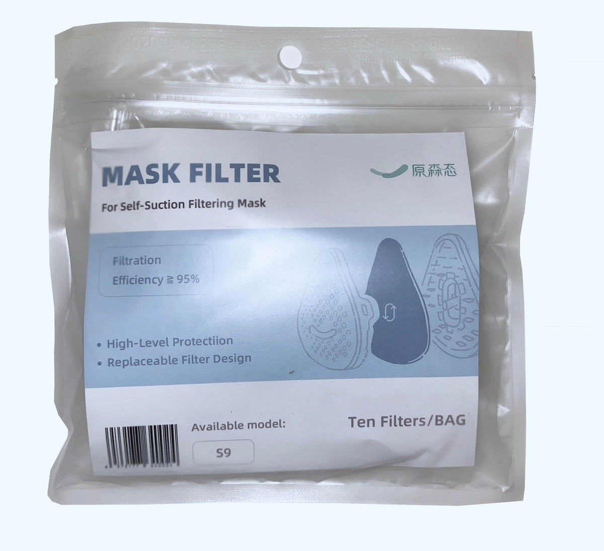 S9 Mask Filters- Set of 10 Filters