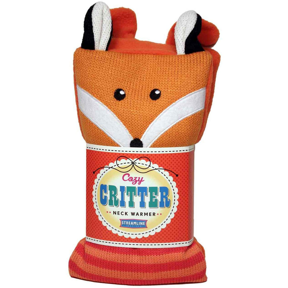Cozy Critter Neck Warmer - Fox