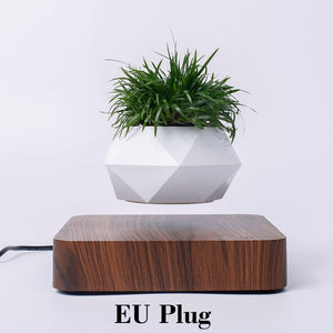 Hot Sale Levitating Air Bonsai Pot Rotation Planters Magnetic Levitation Suspension Flower Floating Pot Potted Plant Desk Decor - AirHalo™
