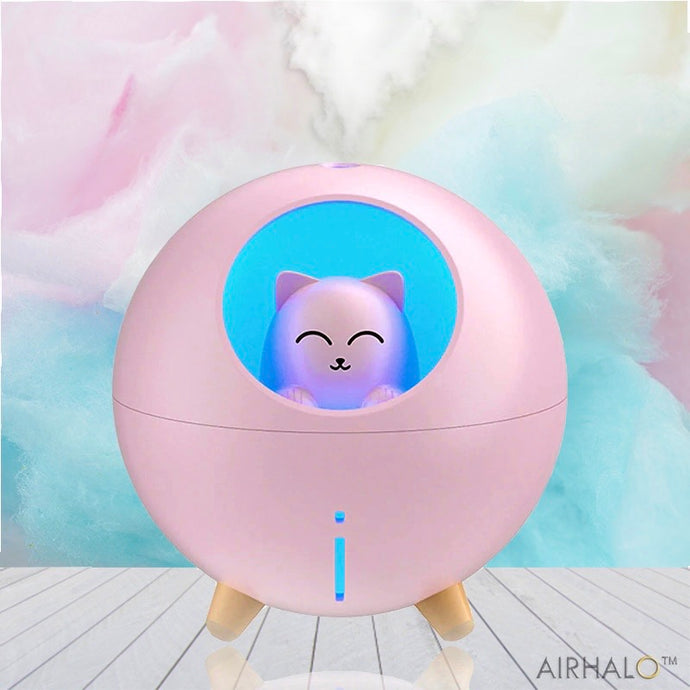 AIRHALO - Kitty Humidifier & Night Light - AirHalo™