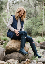 Load image into Gallery viewer, Goondiwindi Navy Quilted Vest