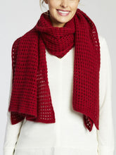 Load image into Gallery viewer, MerinoSnug Avoca Lace Knit Large Merino Wool Scarf - Unisex