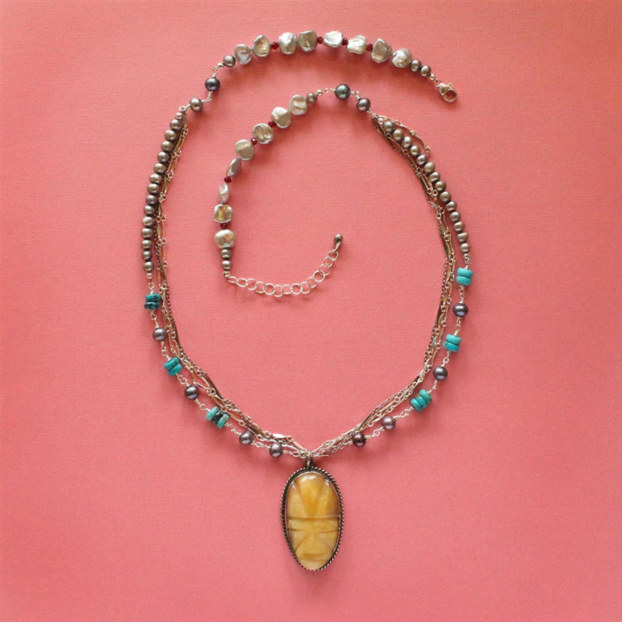 Sloan and Themis Clovis Necklace