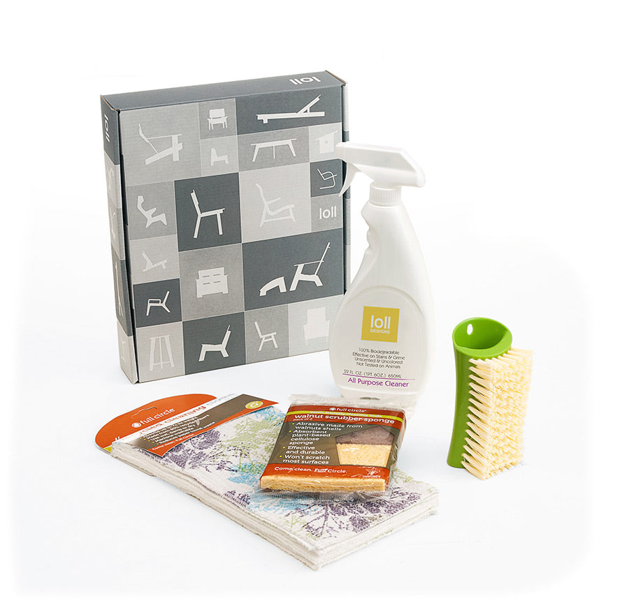 Loll Designs cleaning kit