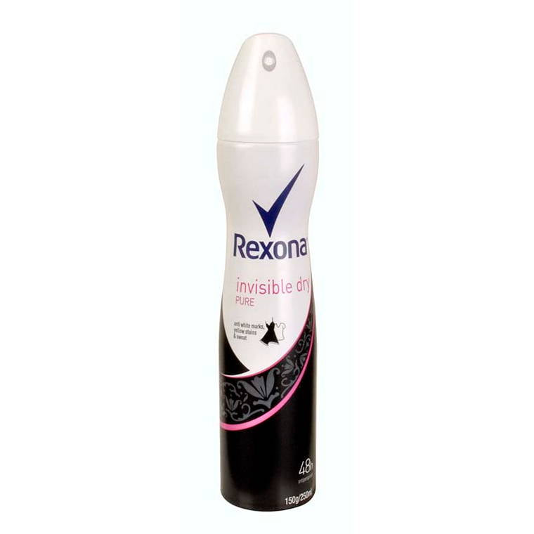 Rexona Womens 150G Pure Invisible Dry