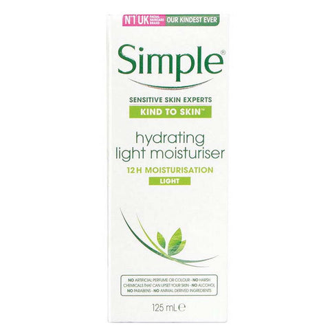 Simple Replenishing Rish Moisturiser Light 125Ml