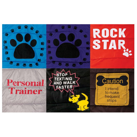 Dog Puffer Jacket 50cm Assorted Designs
