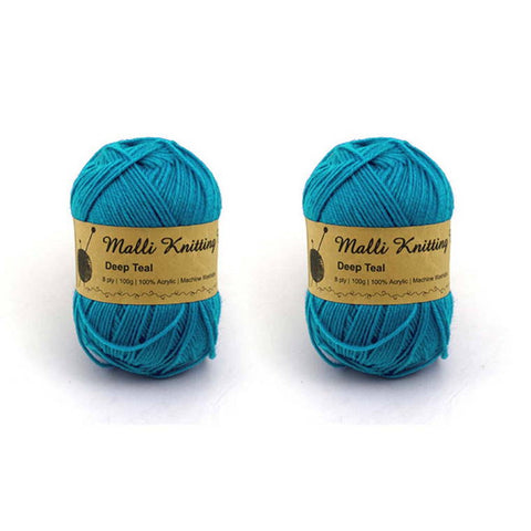 Deep Teal Yarn