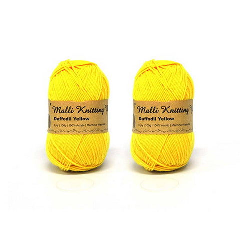 Daffodil Yellow Yarn