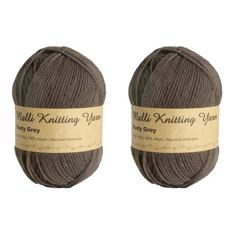 Footy Grey Yarn