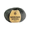 Merino Wool , Grey , 50 Grams , 50% Merino & 50% Polyester