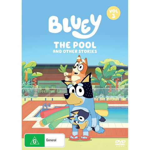 Bluey: The Pool and Other Stories (Vol 3) DVD
