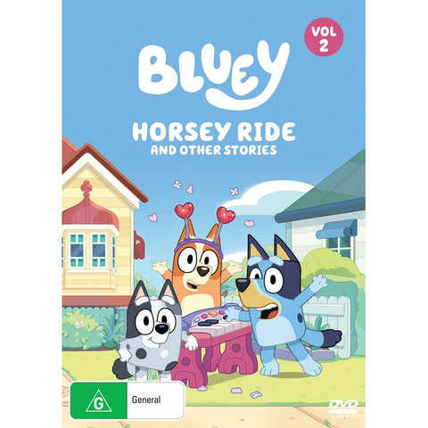 Bluey: Horsey Ride & Other Stories (Vol 2) DVD