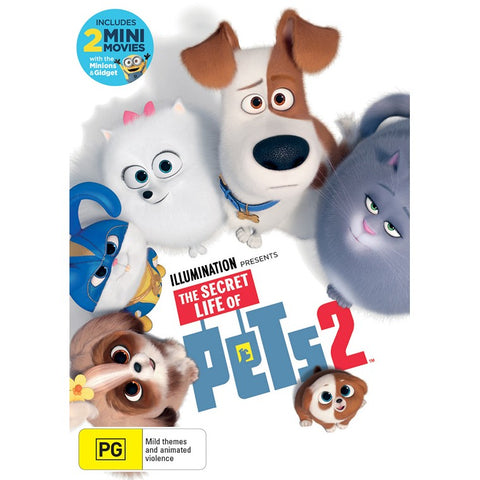 The Secret Life of Pets 2 (2019) DVD