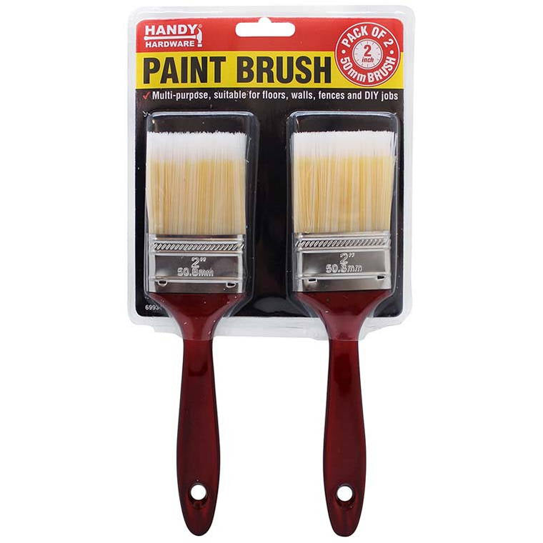 Paint Brush, 50mm, 2pk