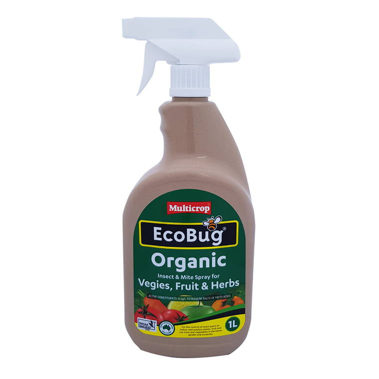 Eco Bug Organic Insect and Mite Spray Ready To Use, 1L