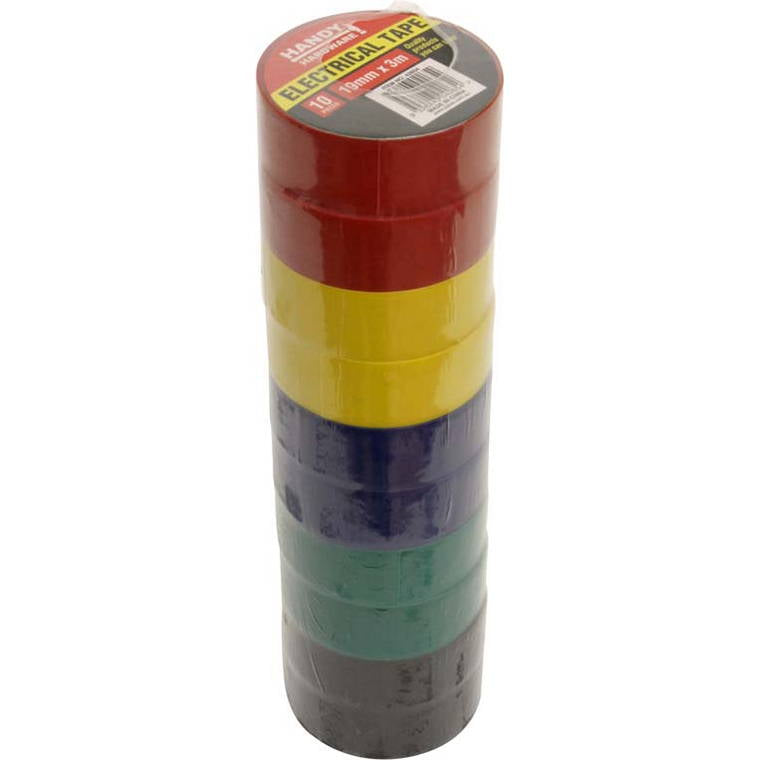 Electrical Tape, 19mmx3m, 10pc
