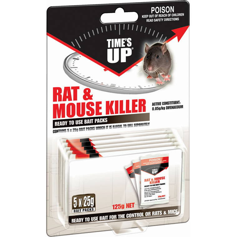 T/Up Rat and Mouse Sachet, 5X25g