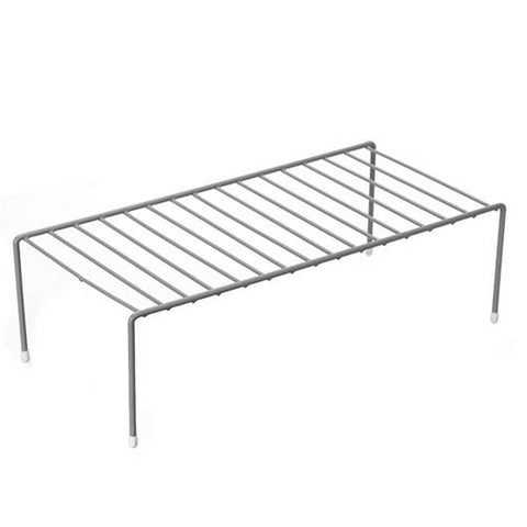 Wire Elevated Storage Rack, 46X23X13.5cm, 2 Assorted