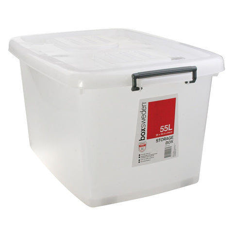 Box Sweden Heavy Duty Storage Tub 55L