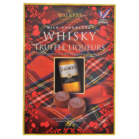Walkers Whiskey Truffles 120G