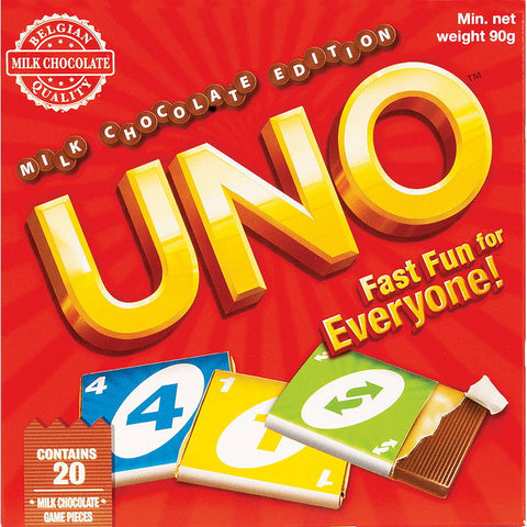 Chocolate uno w 100gm chocolates 20pcs