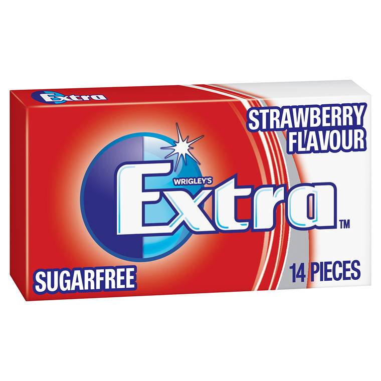 Wrigleys Extra Strawberry Envelope, 27g
