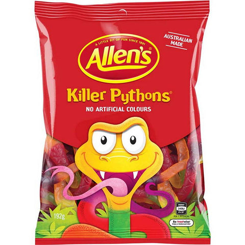 Allens Killer Pythons, Multipack, 192g