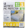Home Master Fitted Mattress Protector, Single