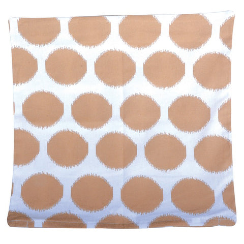 H&G Cotton Cushion Cover in Taupe 60x60