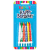 Candle Small Plaque 12Pk with Holder Happy Birthday
