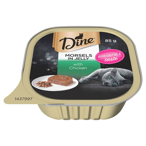 Dine Morsels in Jelly with Chicken, 85g