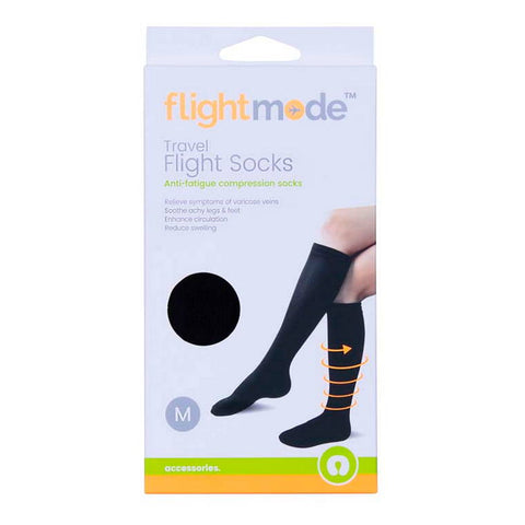 Flight Mode Compression Socks, Medium