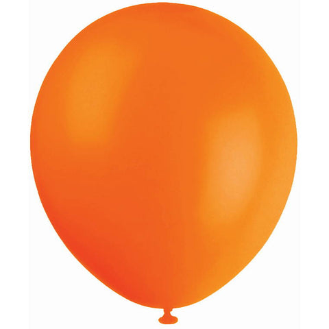 Balloon 20Pk Orange 30Cm