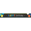 Banner Birthday Black