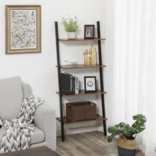 Load image into Gallery viewer, 5-Tier Ladder Bookcase, Bookshelf - Plugsusa