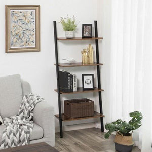 5-Tier Ladder Bookcase, Bookshelf - Plugsusa