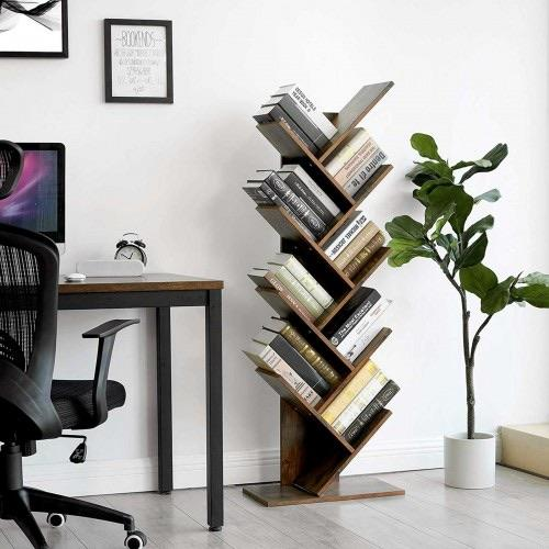 8-Tier Tree Bookshelf - Plugsusa