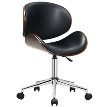 Load image into Gallery viewer, Bentwood Mid-Century Executive Height Adjustable Swivel Office Chair - Plugsusa