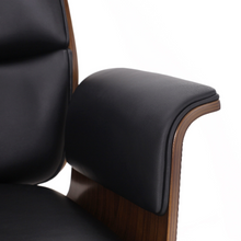 Load image into Gallery viewer, Mid-Century Modern Swivel Office Chair Bentwood Design