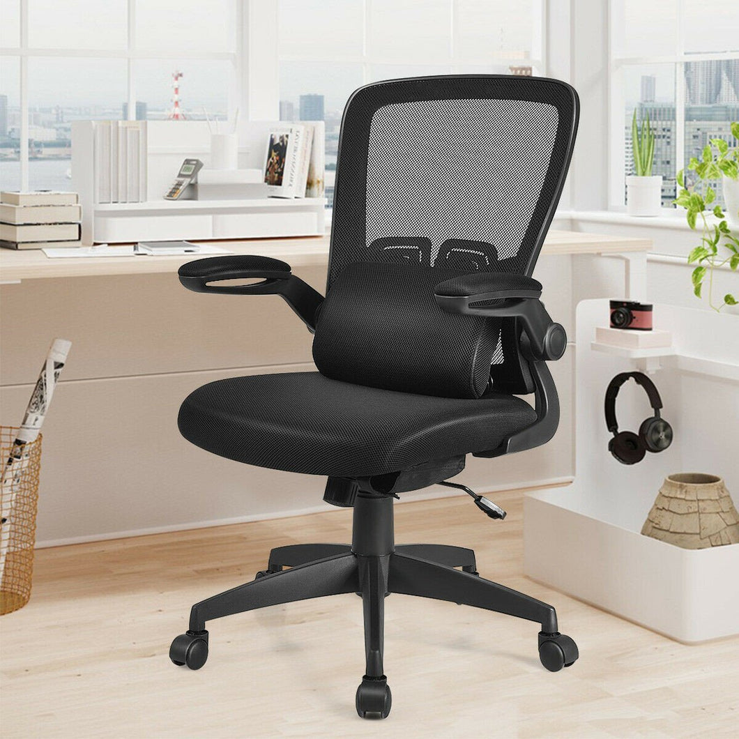 Massage Lumber Pillow Ergonomic Office Chair - Plugsusa