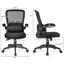 Load image into Gallery viewer, Massage Lumber Pillow Ergonomic Office Chair - Plugsusa