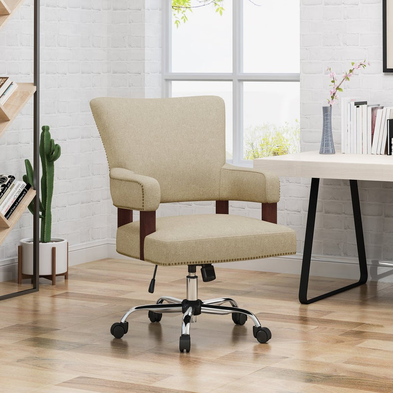 Mid Century Home Office Chair - Plugsusa