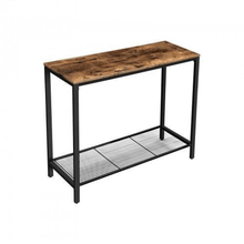 Load image into Gallery viewer, Mid Century Mesh Shelf Console Table - Plugsusa