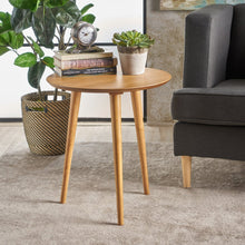Load image into Gallery viewer, Mid Century Modern Round Side Table - Plugsus Home Furniture