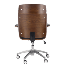 Load image into Gallery viewer, Mid-Century Modern Swivel Office Chair Bentwood Design - Plugsusa