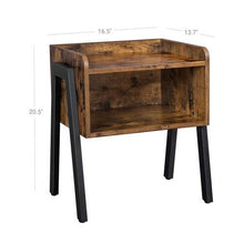 Load image into Gallery viewer, Modern Open Drawer Side Table - Plugsusa