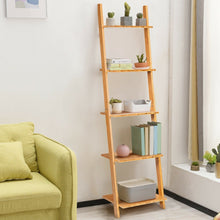 Load image into Gallery viewer, Modernity Bamboo Bookshelf 5 Tier - Plugsusa